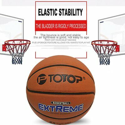 PU Size 7 Outdoor Sports Competition Basketball for Primary And Middle School GU