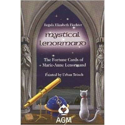 Mystical Lenormand Book by Regula Elizabeth Fiechter - Brand New