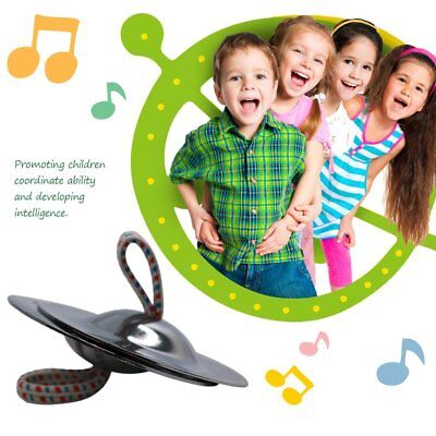 Percussion Musical Instrument Belly Dancing Finger Cymbals For Children Kids GU