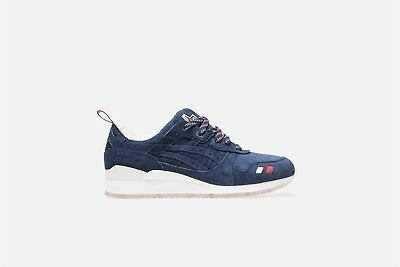 best authentic 609ac e4306 KITH X MONCLER x Asics Gel Lyte III NAVY Size 7