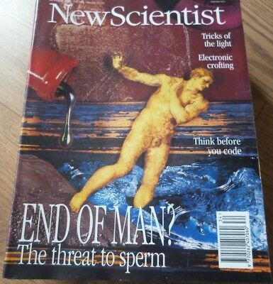 NEW SCIENTIST MAGAZINE*No. 1992 AUGUST 26 1995 *ENGLISH*WEEKLY*END OF MAN?