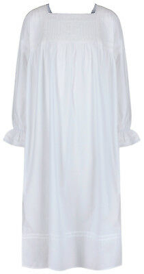 Girls Nightie 100% Cotton Victorian Nightdress  age 4 5 6 7 8 9 10 11 12 13 14
