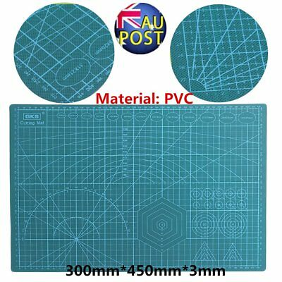 PVC A3 Double-sided cutting mat Eco Friendly Self Healing Cutting Mat 45x30CM GU