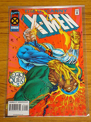X-Men Uncanny #321 Marvel Comics Legion Quest Part 3 February 1995