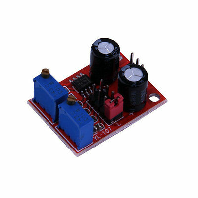 Signal Generator NE555 Pulse Frequency Duty Cycle Adjustable Module Square GU