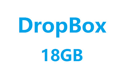 [1000+ Sold] Dropbox Permanent 18 GB Lifetime Space