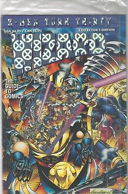 WIZARD X-MEN TURN THIRTY Collector's Edition W/CARD IN ORIGINAL SEALED BAG