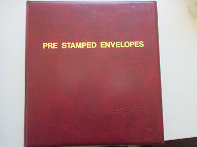 N0---16 --Fdc  Album  Full  Of Covers  35  Pages  --With  140   Fdc's  Included