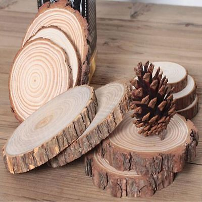 Bark Landscaping Garden Rustic Home Coasters DIY Craft Accessories Decoration