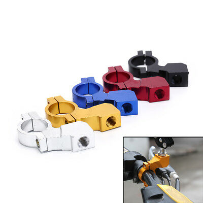 1x10MM Motorcycle Bike Handlebar Rear View Mirror Mount Holder Clamp Selling  JR
