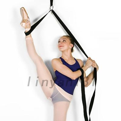 Quality Stretch Bands Yoga Resistance Band Foot Loop Dance Gym Training Beauty