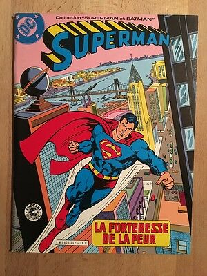 SUPERMAN - La forteresse de la peur -  Sagédition - 1982 - NEUF