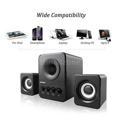 USB Wired Computer Speaker Deep Bass Stereo Music Player For Desktop PC Laptop