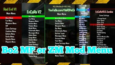 call of duty black ops mod menu ps3