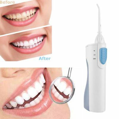 Portable Rechargeable Oral Irrigator Electric Dental Water Flosser Cleaner O~