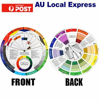 Artists Colour Wheel Mixing Colour Guide Pocket Artist Colour Wheel GU