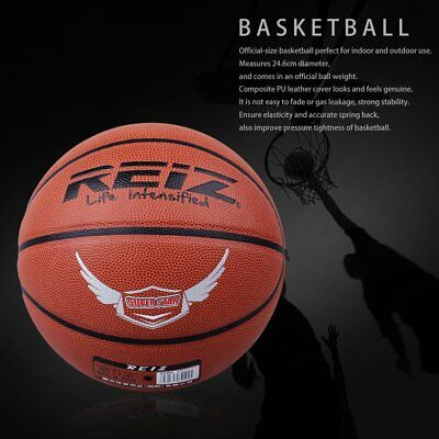 REIZ 904 Official Size 7 PU Basketball Sports Competitive Street Play AU