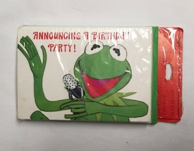 New vintage kermit the frog hallmark birthday card sealed greeting new vintage kermit the frog hallmark birthday card sealed greeting nos 1978 m4hsunfo