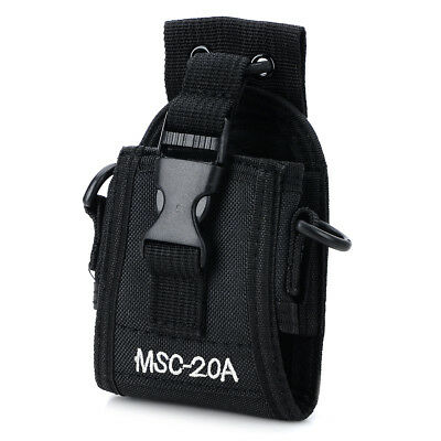 MSC-20A Holder Pouch Case For Walkie Talkie two Way Radio Baofeng UV-5R Black