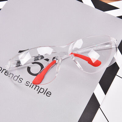 Eye Protection Anti Fog Clear Protective Safety Glasses For Lab Outdoor Work  Z