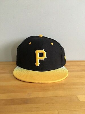3a0dadc2924 MLB PITTSBURGH PIRATES New Era 59Fifty Pirate Fitted Hat Cap 7 1 2 ...