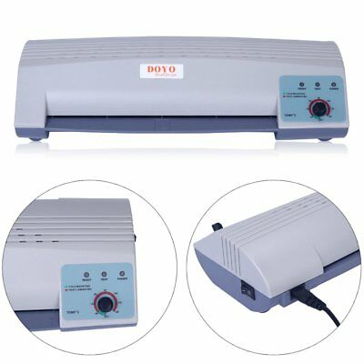 220V Home Office A4 Photo Cold and Hot Laminator / Laminating Machine F7
