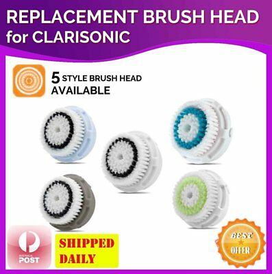 1 Replacement Brush Heads for Clarisonic MIA & MIA 2, PRO, PLUS Facial Cleansers