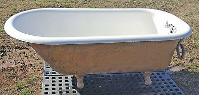 Antique Kohler Cast Iron Victorian Claw Foot Tub