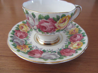 Vintage - Gladstone ''rosemary'' -  Coffee / Demitasse Cup & Saucer Duo