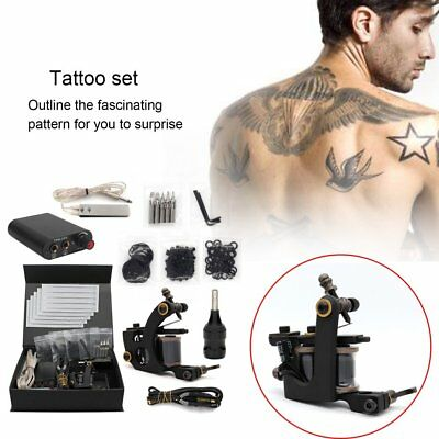 Tattoo Machine Kit Strong Secant Strength Stable Performance Fast Coloring GT