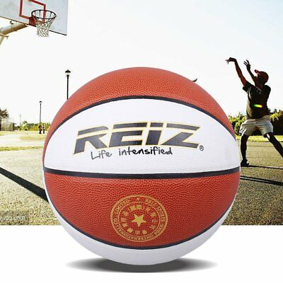 REIZ Official Size 6 Basketball PU Leather Non-slip Ball With WOMEN Letters GT