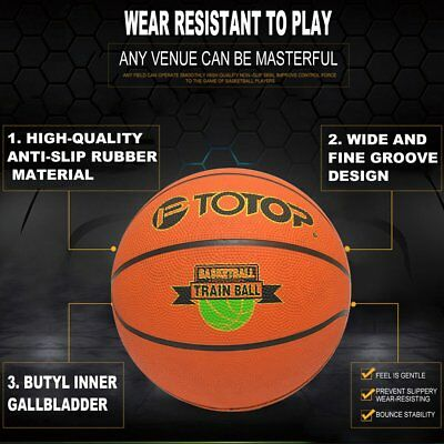 Size 7 Rubber Basketball Special for Primary And Middle School Students GT