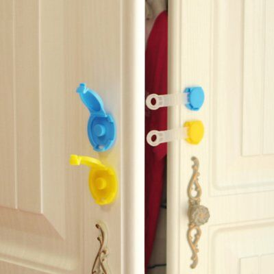 Child Baby Safety Security Protector Doorstop Guard Drawer ABS Cupboard Lock UG