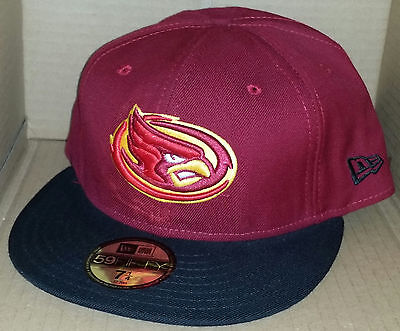super popular d9dab 7bca9 NWT NEW ERA Iowa State CYCLONES crimson 59FIFTY size fitted college cap hat  ncaa