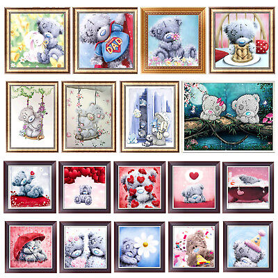 5D DIY Little Bear Series Diamond Painting Embroidery Cross Stitch Decor Crafts