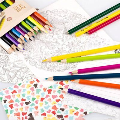 Non-Toxic 24 Colors Painting Colored Pencils Writing Drawing Color Pencil GT