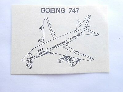 Vecchio,lot,old Bpz Kinder Boeing 747/ancien Montable Zivil Flugzeuge Corplast