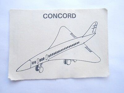 Vecchio,old,lot Bpz Kinder Concorde /ancien Montable Zivil Flugzeuge Corplast