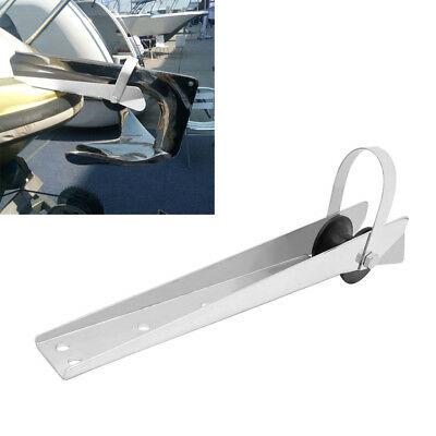 316 Stainless Steel Boat Bow Anchor Roller 390mm For Fixed Marine Boat Yacht