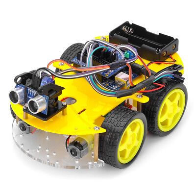 Duable Bluetooth Controlled Robot Car Kits for Arduino