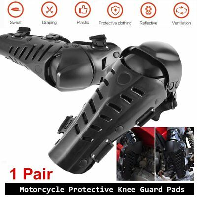 1Pair Motorcycle Motor Knee Armor Protective Guard Knee Pads Protective Gears AU