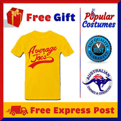 Average Joes Funny Comedy Movie Gym Sports Workout Dodgeball Team Adult T-Shirt