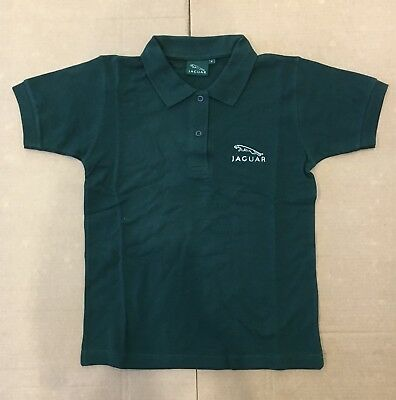 Original Jaguar Kinder Polo Shirt grün NEU Gr. S