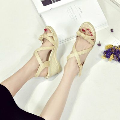 ish Head Women Sandals Buckle Shoes Casual Breathable Anti-Slip Sole Sandals GT