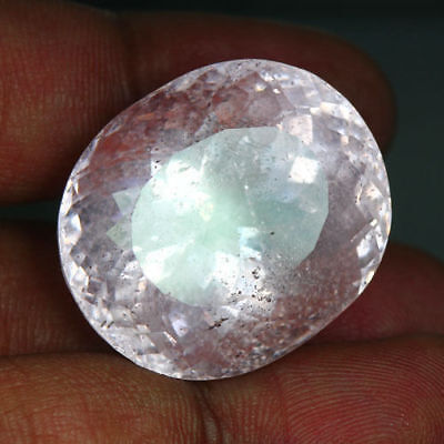 62.34 Cts_World Musium Big Jumbo Gemstone_100 % Natural Unheated Pink Morganite