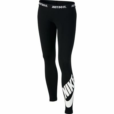 Nike Girls Leg-a-See Tight - Mädchen lange Tight - 851984-010 schwarz