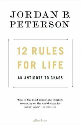 **NEW** - 12 Rules for Life: An Antidote to Chaos (Hardcover) 0241351634