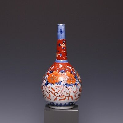 Japanese Imari sprinkler, floral decoration, late 19th ct.