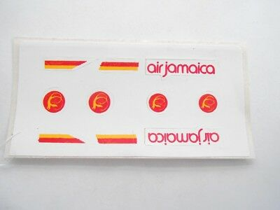 Vecchio,old,lot Stickers Giodi/ancien Montable Folie, Akf, Flughafen Air Jamaica