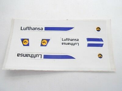 Vecchio,old,lot Stickers Giodi/ancien Montable Folie, Akf, Flughafen Lufthansa
